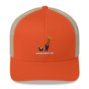 Trucker With Mesh Back Hat