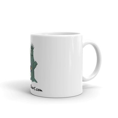 Trump Assault on Lady Liberty Mug.
