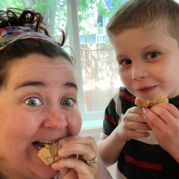 Baking with Kids: Peanut Butter Cookie Day