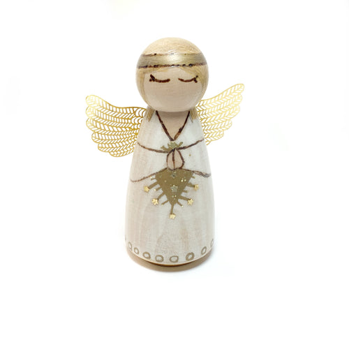 Angel Peg Doll