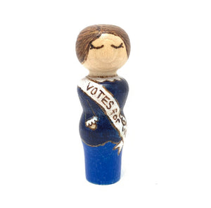 Susan B Anthony Strong Woman Peg Doll