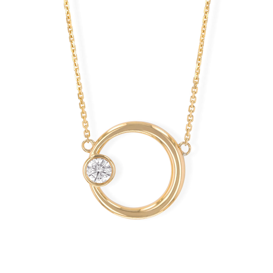 Adilah Diamond Necklace