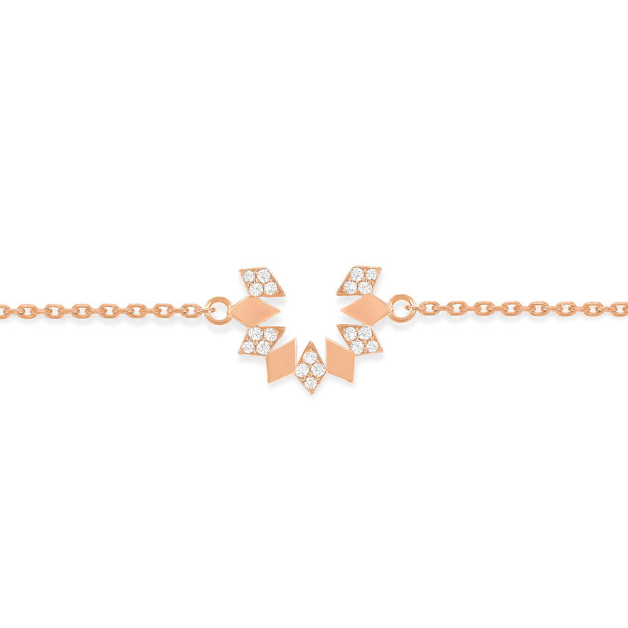 Dahlia Mini Diamond Bracelet