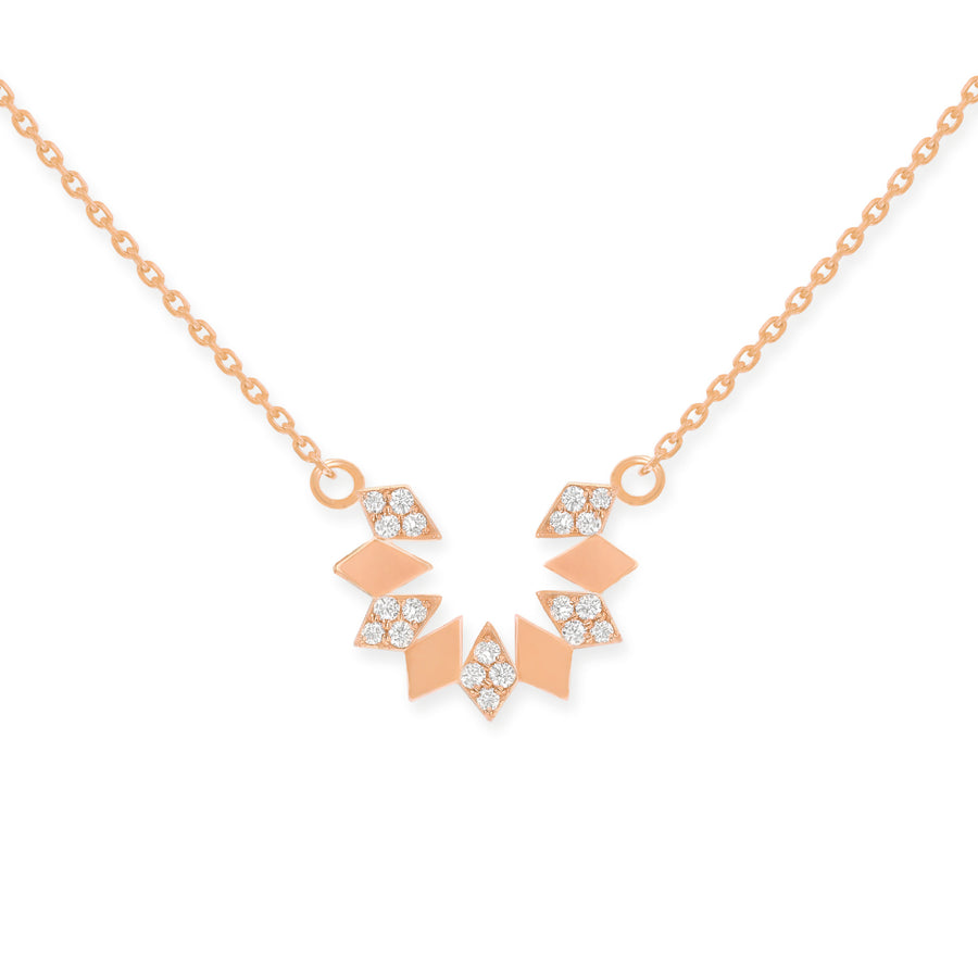 Dahlia Mini Diamond Necklace