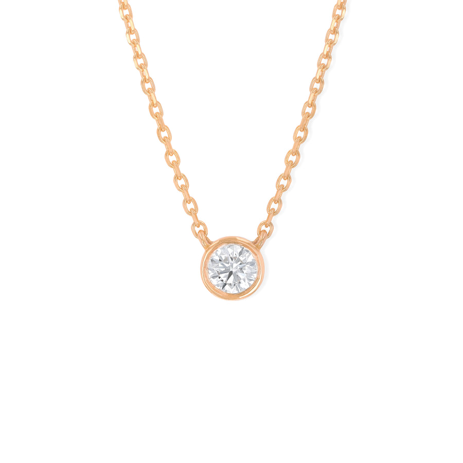 Noor Floating Diamond Necklace (Large)