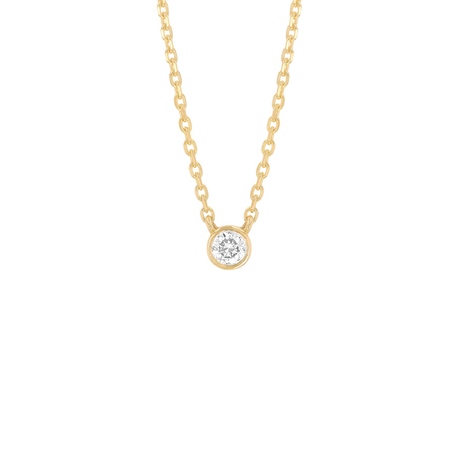 Noor Floating Diamond Necklace (Small)
