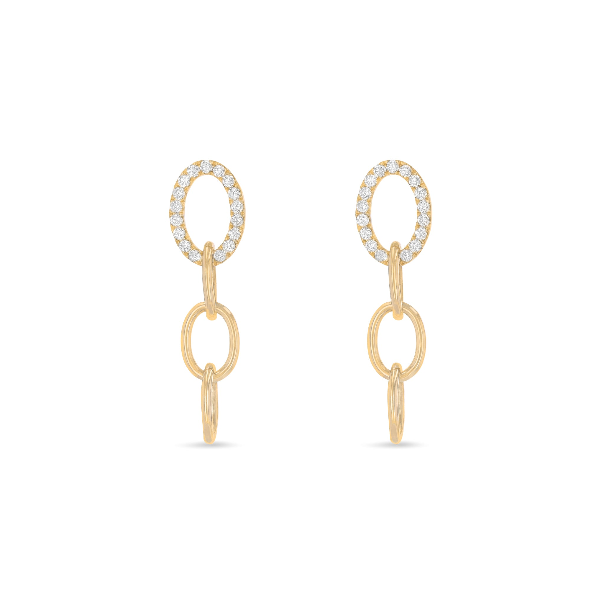 Serena Infinity Diamond Earrings