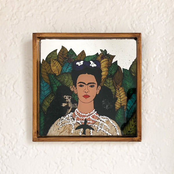 Frida Kahlo Mirror Painting