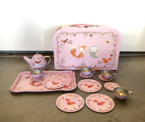 Picnic Box Tea Set