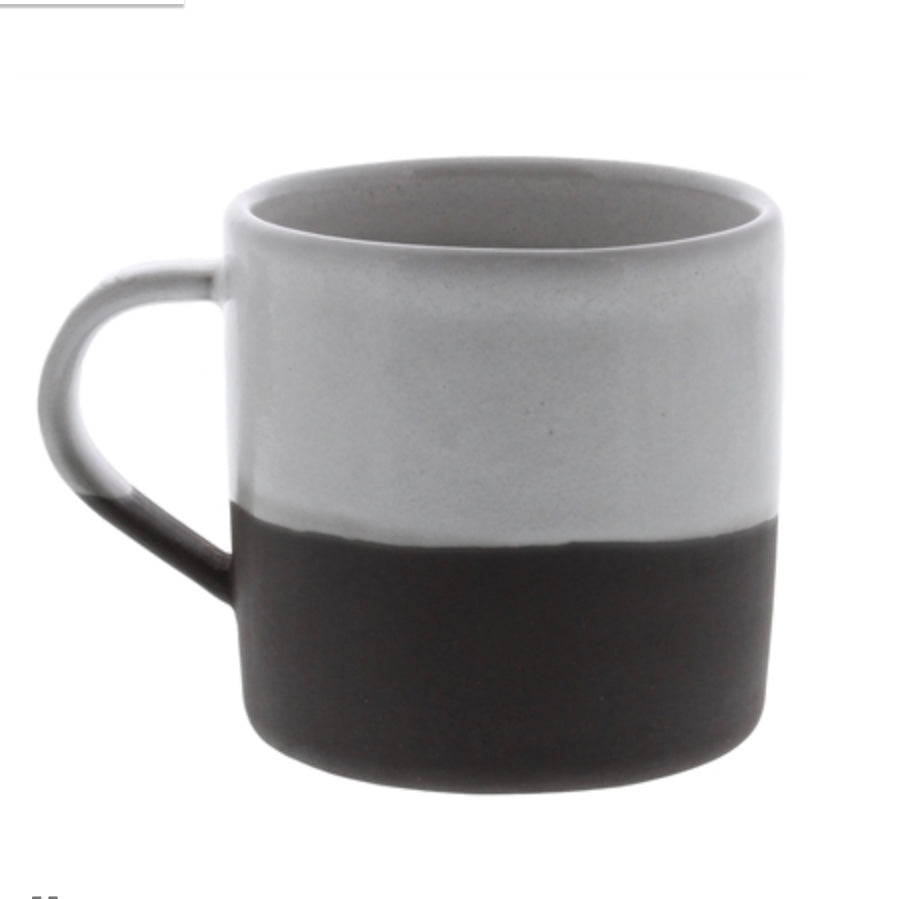 Ceramic Mug - Partial Glaze