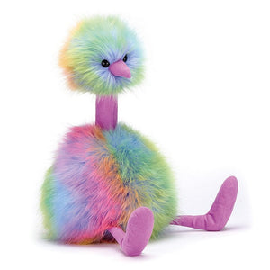 Rainbow PomPom Stuffed Animal