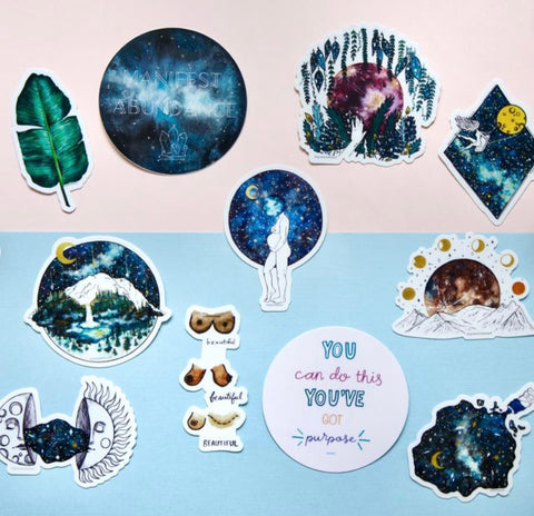 Grace Rouse Art Stickers