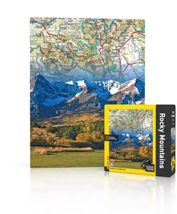 Rocky Mountains Puzzle - 100 Piece Mini Puzzle