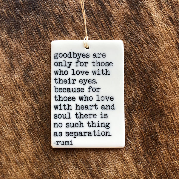 Quote Ornament