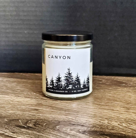 Soy Candle - Roam + Wander Co.