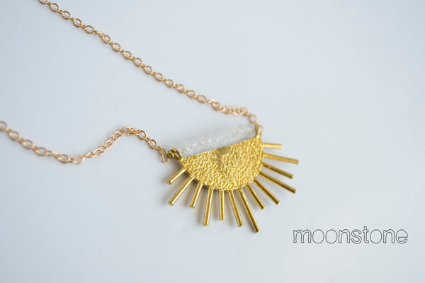 Grey Theory Mill - Sun Necklace