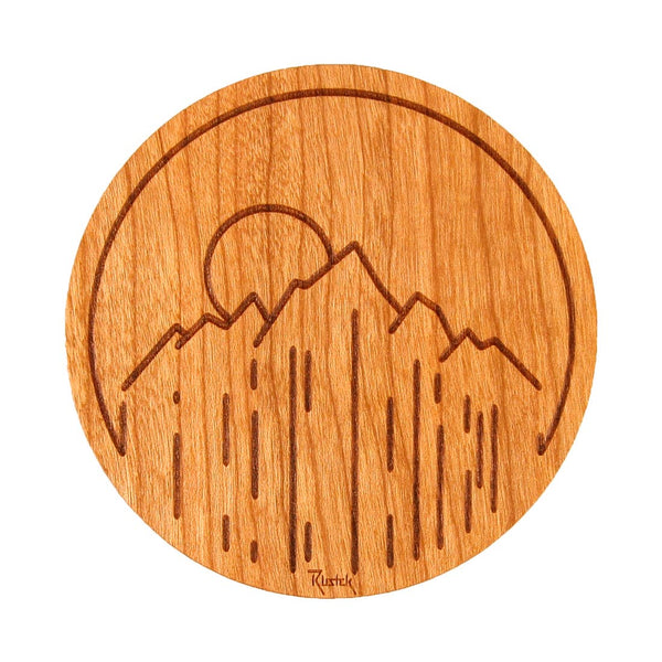 Rustek Collective Wood Stickers