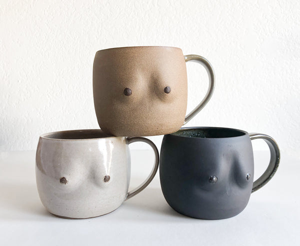 Ceramic Boobs Mug