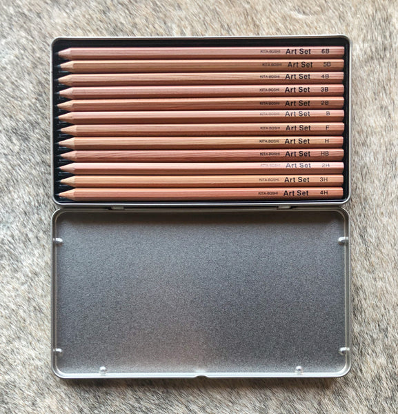 Kitaboshi Japanese Art Pencil Set