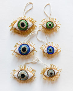Beaded Eye Ornament
