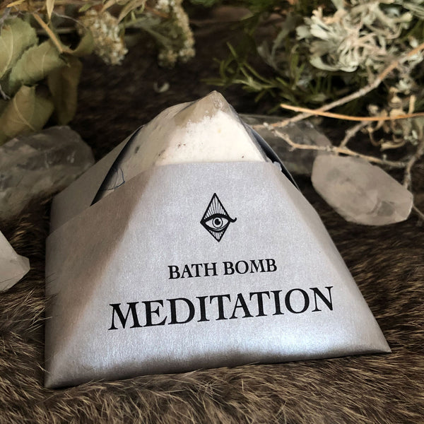 Crystal Pyramid Bath Bombs