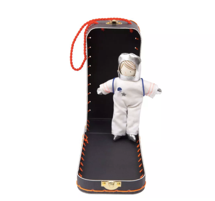 Mini Astronaut Suitcase Doll Playset