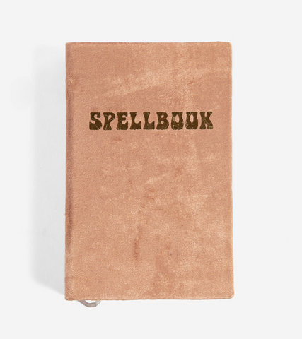 Rust Velvet Spellbook Journal