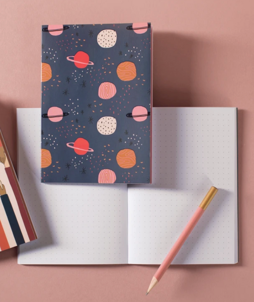 Space Cat Dot Grid Notebook Set