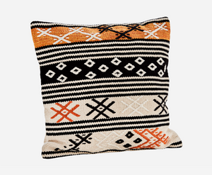 Cotton Chenille Kilim Style Pillow Cover