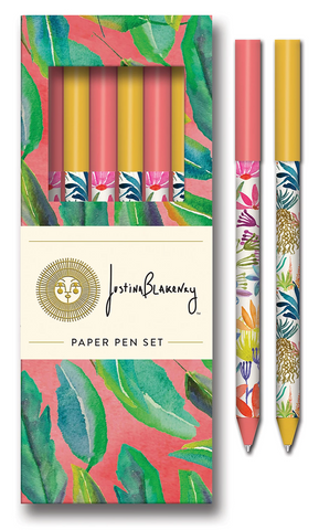 Botanical Pen Set