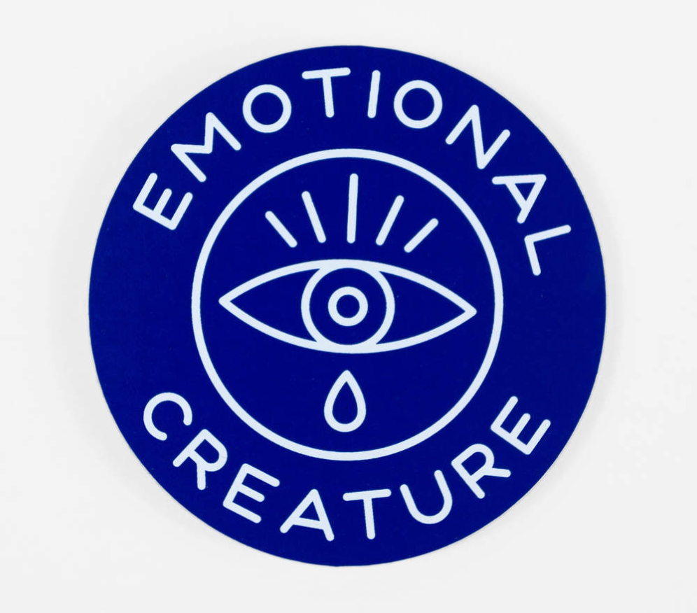 Emotional Creature Sticker