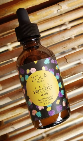 Natural Oil Facial Moisturizer and Sun Protectant