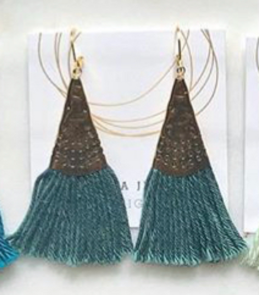 Tassel Earrings - Melissa Jenkins