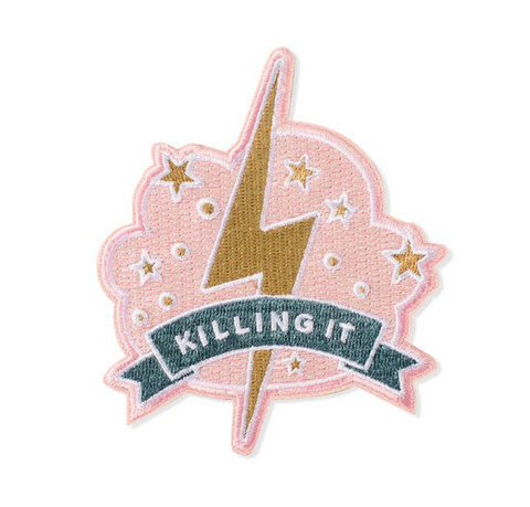 Killing It Embroidered Patch