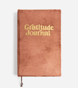 Rust Velvet Gratitude Nightly Mindfullness Journal