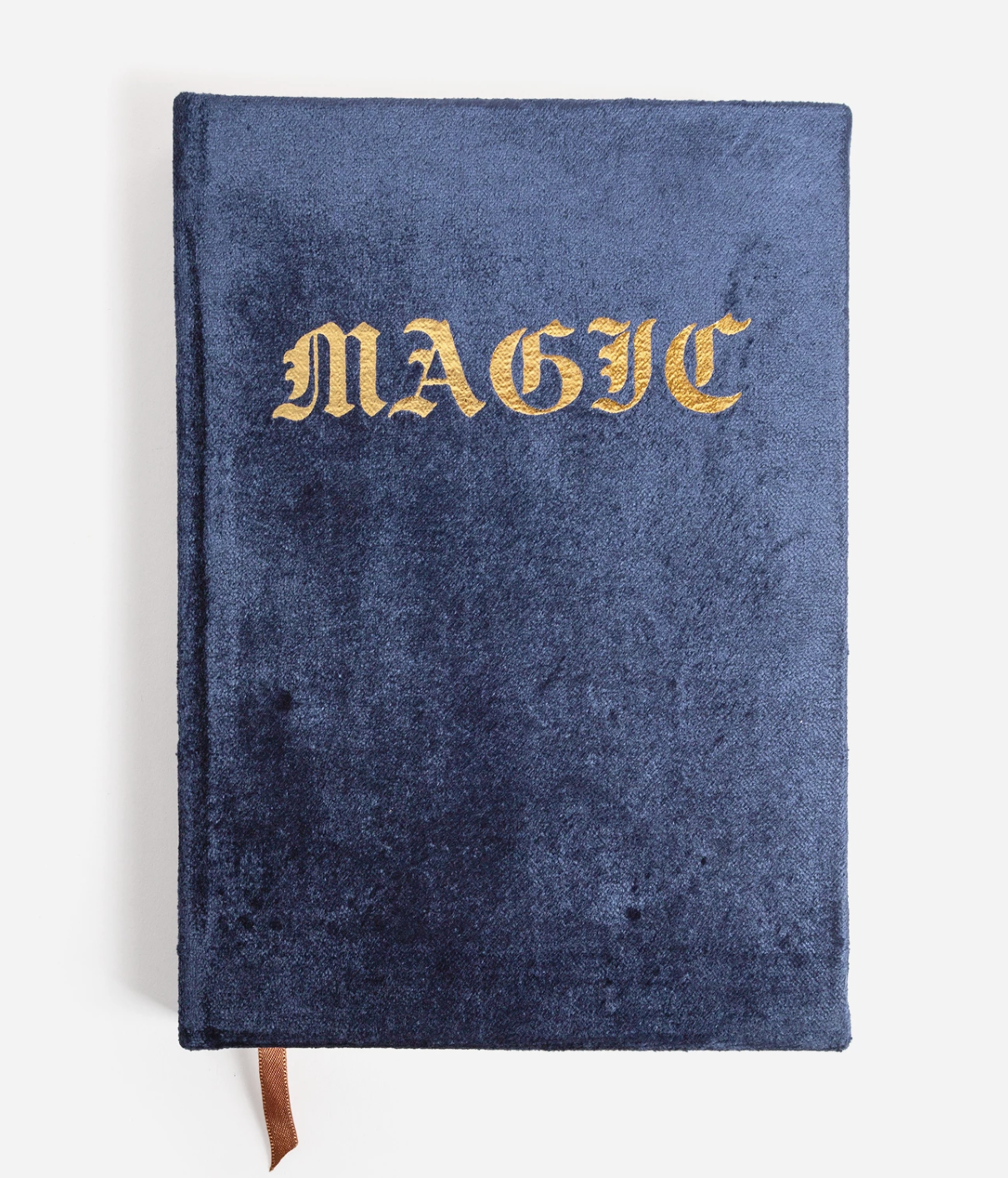 Magic Navy Blue Velvet Journal