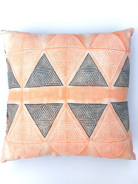 Hand Printed Throw Pillows