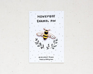 Honeybee Enamel Pin