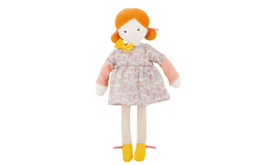 Fabric Doll - Blanche