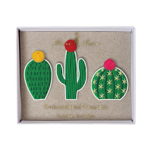 Embroidered Kids Brooches