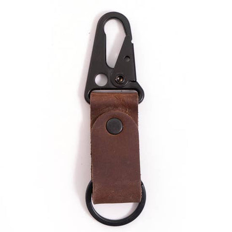 Leather Clip Keychains
