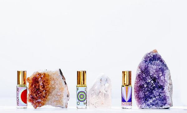 Daily Ritual Oil + Stone Blends