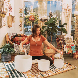 3/18/2020 - Crystal Bowl Sound Bath with Elise Nicole