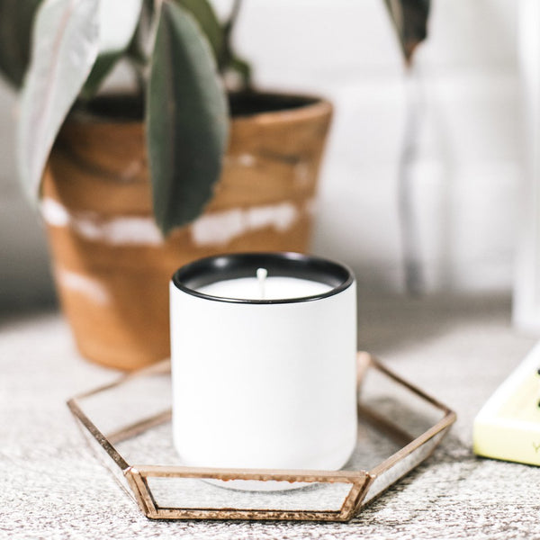 Ceramic Cup Candle - Standard Wax