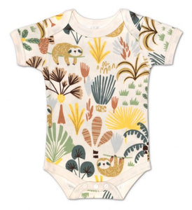 Organic Sloth Onesie - Apple Park