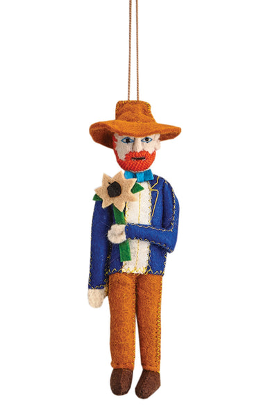 Felt Influential Figure Ornaments