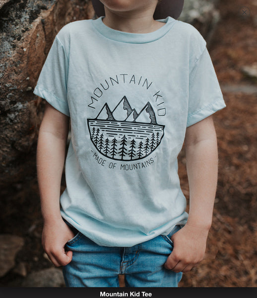 Made of Mountains Kid's Tee