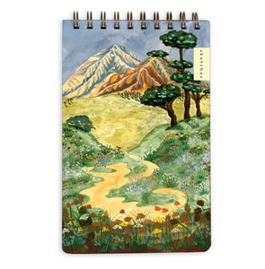 Mountain Landscape Notepad / Sketchbook