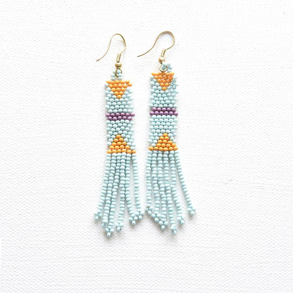 Petite Fringe Seed Bead Earrings