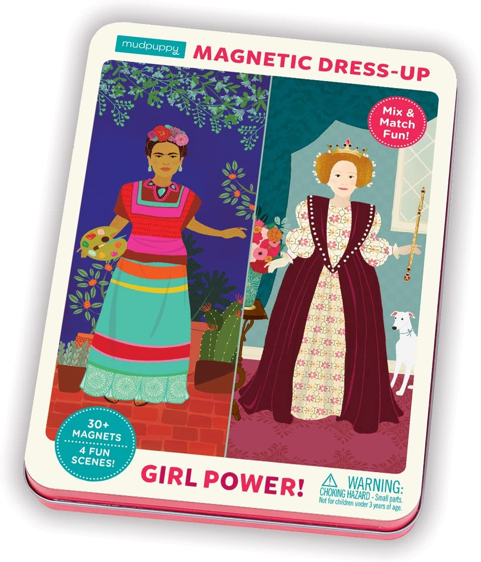 Girl Power Magnetic Dress Up